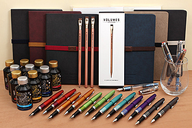 New Products: Apica Notebooks, Diamine Shimmering Fountain Pen Inks, TWSBI and Pilot Metropolitan Retro Pop Fountain Pens, Tomoe River Paper, and More!