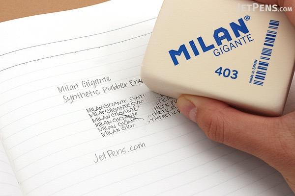Milan Gigante Synthetic Rubber Eraser - MILAN CMM403