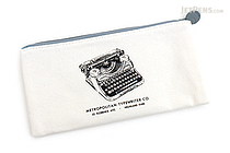 Artemis Canvas Pen Case - Typewriter - ARTEMIS LPP02 03