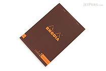 Rhodia ColoR Pad No. 16 - A5 - Lined - Chocolate - RHODIA 169/63