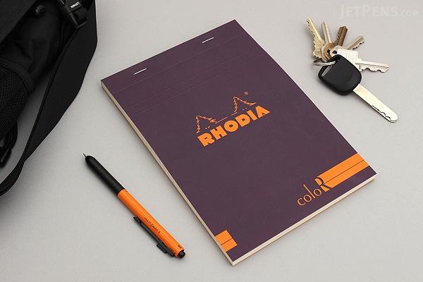 Rhodia ColoR Pad No. 16 - A5 - Lined - Violet - RHODIA 169/70