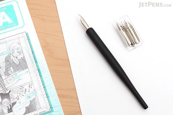 Zebra Comic Pen Nib - Hard G - Pack of 10 - ZEBRA PG-8B-C-K