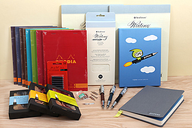 New Products: Strathmore and Rhodia Notepads, Art Alternatives and Ohto Fountain Pens, Zebra and Speedball Nibs, and More!