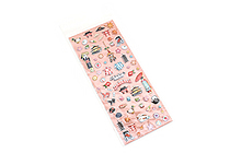 Kurochiku Japanese Puffy Stickers - Kyoto - KUROCHIKU 71312802