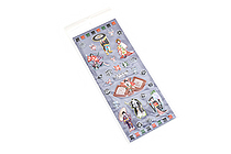 Kurochiku Japanese Puffy Stickers - Kabuki - KUROCHIKU 71312810