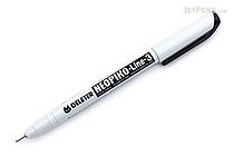 Deleter Neopiko Line 3 Pen - 0.2 mm - Black - DELETER 311-6B20