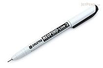 Deleter Neopiko Line 3 Pen - 0.5 mm - Black - DELETER 311-6B50