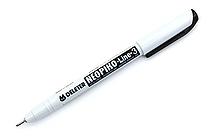 Deleter Neopiko Line 3 Pen - 0.8 mm - Black - DELETER 311-6B80