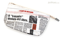 Artemis Fiber Pen Case - Newspaper - ARTEMIS FPPC01 03