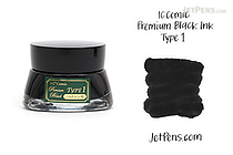 IC Comic Premium Black Type 1 Ink - 20 ml Bottle - IC IC33