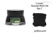 IC Comic Premium Black Type 1 Ink - 20 ml Bottle - IC IC33