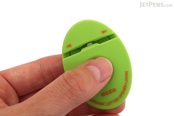 Ohto Coro Ceramic Letter Opener - Green - OHTO CLO-700C-GN