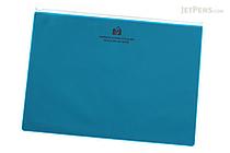 Etranger di Costarica Zipper Case - A4 - Transparency Light Blue - ETRANGER DI COSTARICA ZIP-A4-68
