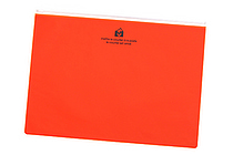 Etranger di Costarica Zipper Case - A4 - Transparency Orange - ETRANGER DI COSTARICA ZIP-A4-64