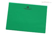 Etranger di Costarica Zipper Case - A4 - Transparency Green - ETRANGER DI COSTARICA ZIP-A4-67