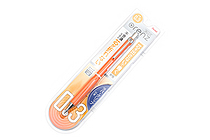 Pentel Orenz Mechanical Pencil - Rubber Grip - 0.3 mm - Orange - PENTEL XPP603G-F