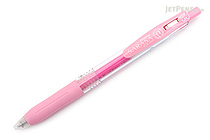 Zebra Sarasa Push Clip Gel Pen - 0.5 mm - Milk Pink - ZEBRA JJ15-MKP