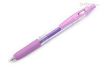 Zebra Sarasa Push Clip Gel Pen - 0.5 mm - Milk Purple - ZEBRA JJ15-MKPU