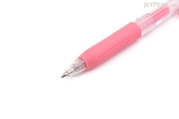 Zebra Sarasa Push Clip Gel Pen - 0.5 mm - Milk Red - ZEBRA JJ15-MKR