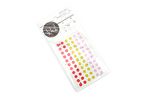 Hisago Iro Label Planner Stickers - Clear Circle - Garden - HISAGO ML127