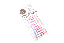 Hisago Iro Label Planner Stickers - Clear Circle - Girly - HISAGO ML146