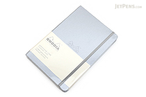 "Rhodia Webnotebook - 5.5"" x 8.3"" - Lined - Silver - RHODIA 118607"