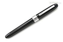 Platinum Plaisir Fountain Pen - Black - 03 Fine Nib - PLATINUM PGB-1000 1-2