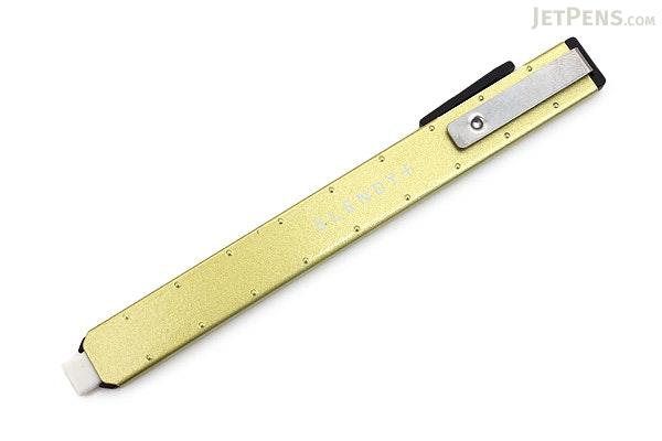 Seed Slendy + Super Slim Knock Eraser II - Green Body - SEED EH-S-G