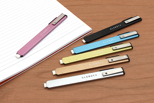 Seed Slendy + Super Slim Knock Eraser II - Pink Body - SEED EH-S-P