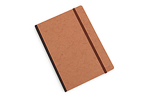 "Clairefontaine Basics Life Unplugged Clothbound Notebook - 6"" x 8.25"" - Tan - CLAIREFONTAINE 79546"