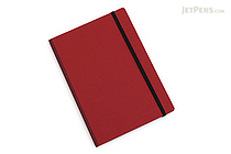 "Clairefontaine Basics Life Unplugged Clothbound Notebook - 6"" x 8.25"" - Red - CLAIREFONTAINE 795462"