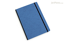 "Clairefontaine Basics Life Unplugged Clothbound Notebook - 6"" x 8.25"" - Blue - CLAIREFONTAINE 795464"