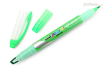 Uni Propus Window Q-Dry Double-Sided Highlighter - 4.0 mm / 0.6 mm - Green - UNI PUS138T.6