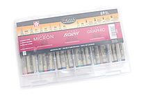 Sakura Pigma Ink Gift Set - 59 Pen Set - SAKURA 50050