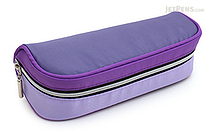 Raymay Big Open Pen Case - Violet - RAYMAY FY323 V