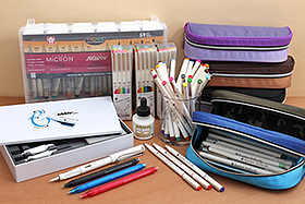 New Products: Charming Marker Pens, Big Pen Cases, Bright White Ink, Cute Mechanical Pencils, and More!