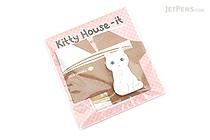Thehaki Kitty House-It Sticky Notes - Ari (Turkish Angora) - THEHAKI T-DS-440