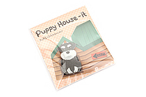 Thehaki Puppy House-It Sticky Notes - Ruki (Schnauzer) - THEHAKI T-DS-442