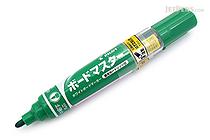 Pilot Board Master Whiteboard Marker - Medium Fine Round Tip - Green - PILOT WMBM-12FM-G