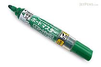 Pilot Board Master Whiteboard Marker - Medium Round Tip - Green - PILOT WMBM-12L-G