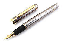 Ohto Proud Fountain Pen - Fine Nib - Gray - OHTO FF-15F-GRAY