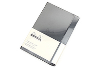 "Rhodia Webnotebook - 5.5"" x 8.3"" - Lined - Black - RHODIA 118609"