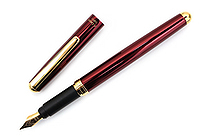 Ohto F-Lapa Fountain Pen - Fine Nib - Wine - OHTO FF-10NB-WI