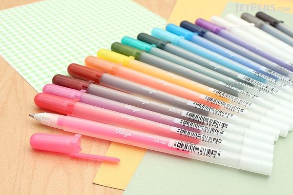 Sakura Glaze Gel Pen - Purple - Pack of 2 - SAKURA 38492