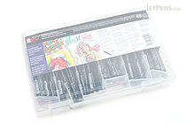 Sakura Koi Coloring Brush Pen - 48 Color Set - SAKURA XBR-48SA
