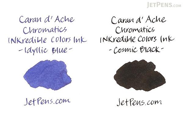 Caran d'Ache Idyllic Blue Ink - Chromatics - 6 Cartridges - CARAN D'ACHE 8021.140