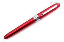 Platinum Plaisir Fountain Pen - Red - 03 Fine Nib - PLATINUM PGB-1000 70-2