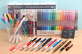 New Products: Disney Kuru Toga, Sakura Glaze Gel Pens, Ohto Fountain Pens, Zebra Sarasa Gel Pens, and More!