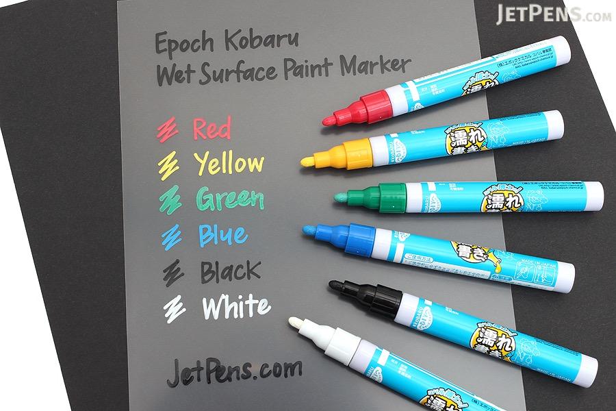 Epoch Kobaru Wet Surface Paint Marker - Yellow - EPOCH CHEMICAL K-WTM-Y