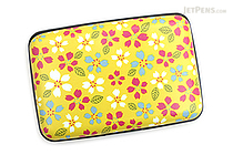 Kurochiku Japanese Pattern Accordion Card Case - Sakura (Cherry Blossom) - KUROCHIKU 71506801